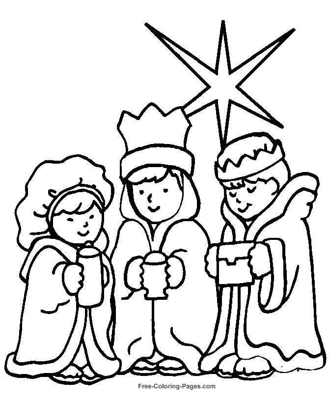 Free Bible coloring pages, sheets and pictures.