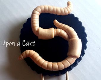 1000 Ideas About Worm Cake On Pinterest Cakes Hedgehog