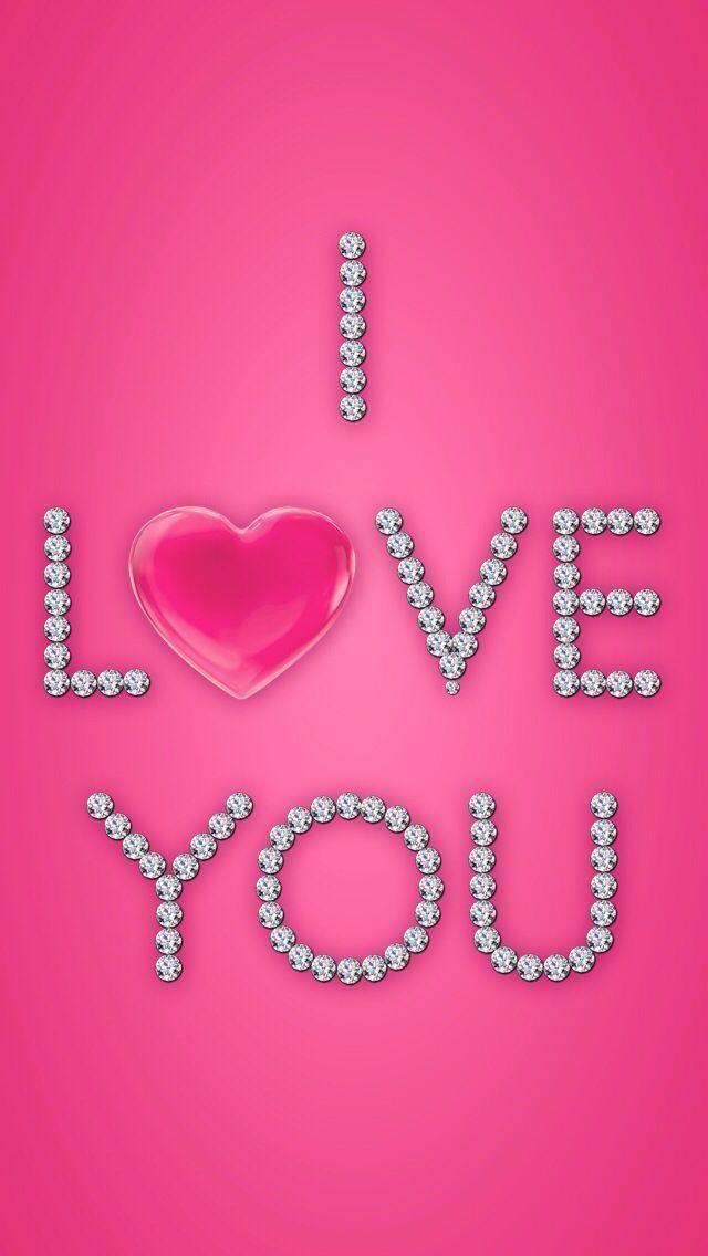 Loading Pink Wallpaper Pink Love Valentines Wallpaper Glitter pink love wallpaper