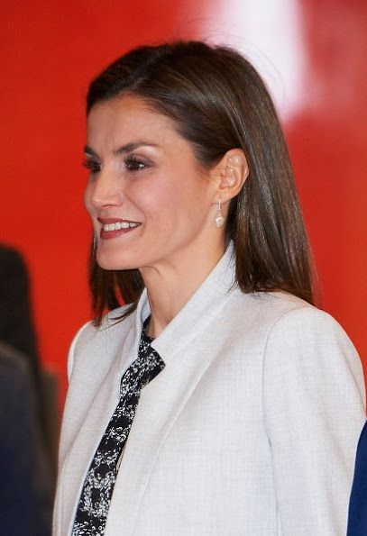 Queen Letizia attends Rare Diseases Day 2017 Events