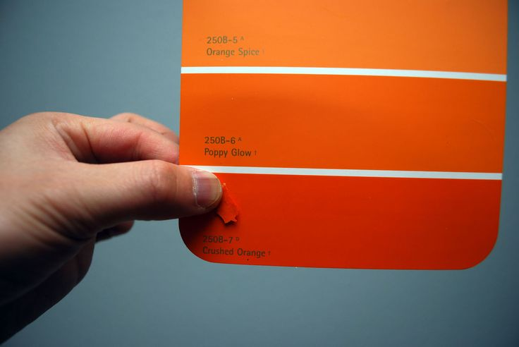 Orange behr paint samples all about your home pinterest Orange paint samples