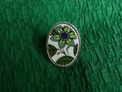 Funky Flower Ring (R46)