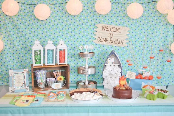 Camp Brandt Summer Camp Birthday Party-22 copy: Birthday Theme, Birthday Parties, Camps Birthday, Boys Parties, Parties Ideas, Camps Parties, Camps Theme, Birthday Ideas, Summer Camps