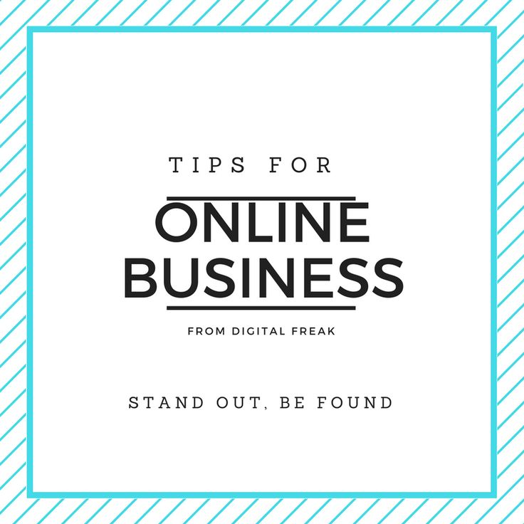 Learn how to build your business online with #DigitalFreak