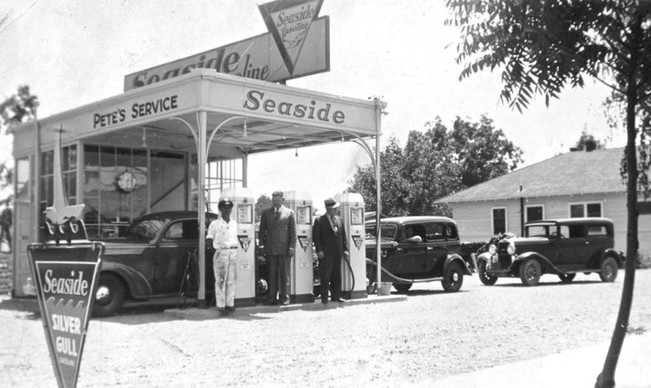 Used Car Dealerships San Jose >> 86 best Classic Service Stations images on Pinterest | Automobile, Autos and Cars