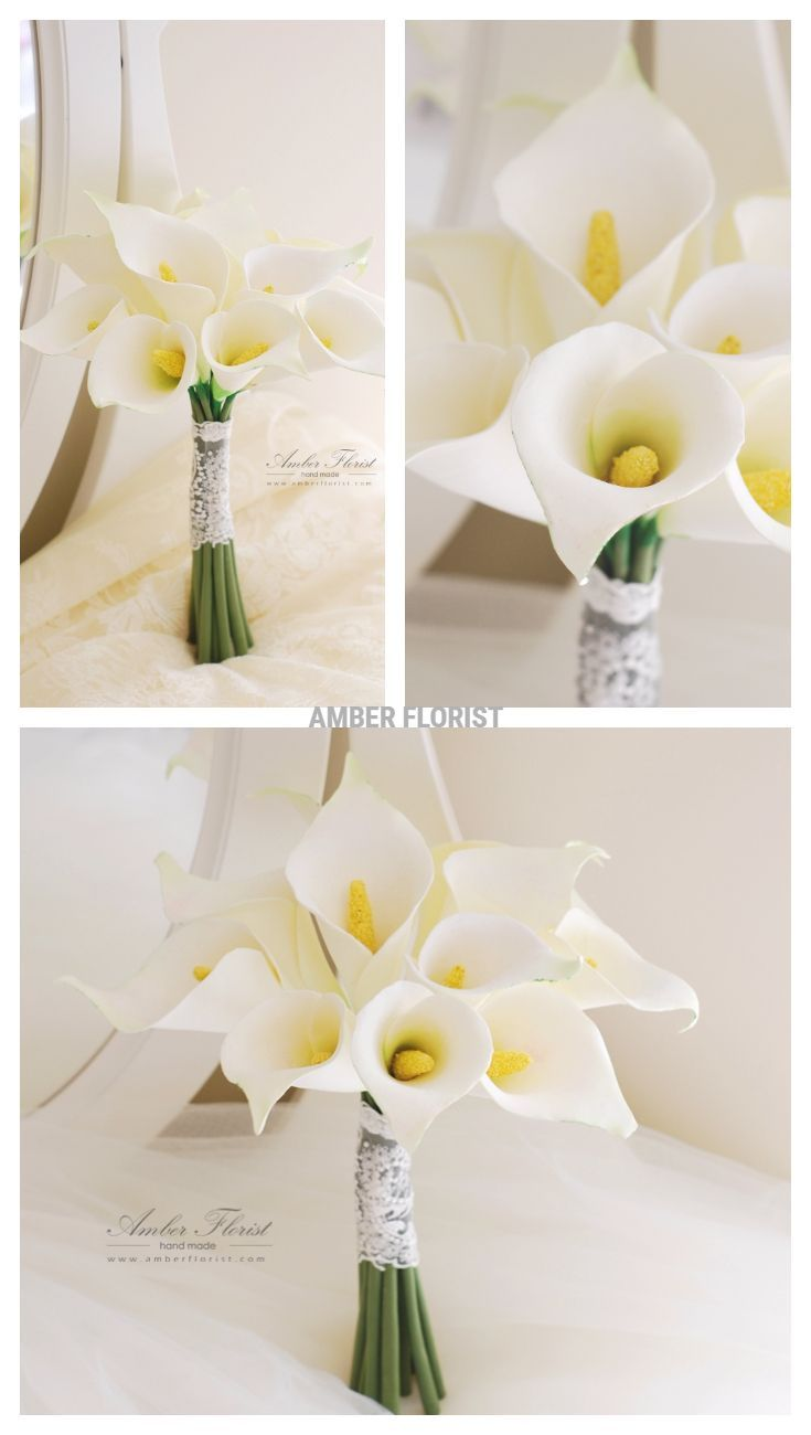 Handmade of soft clay, Flowers have velvet feeling and natural lookiing