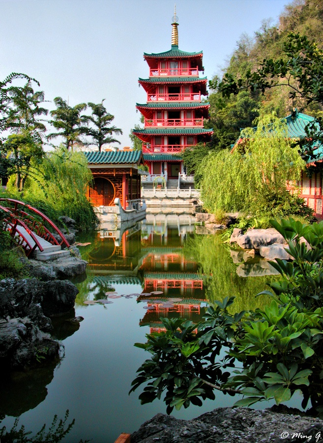 Chinese Garden by Ming G, via 500px