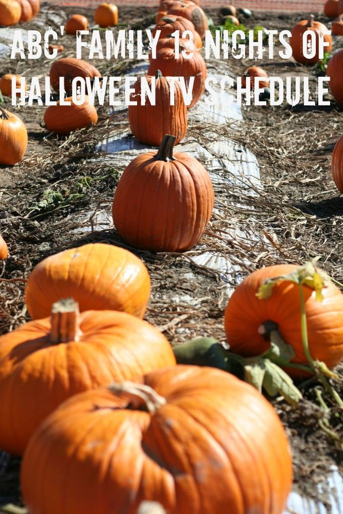 ABC Family 13 Nights of Halloween Schedule 2015 is here! These are scheduled to Monday, October 19 and goes through Halloween. I am excited for this schedule to start. My family loves to watch the shows every night before the kids go to bed.