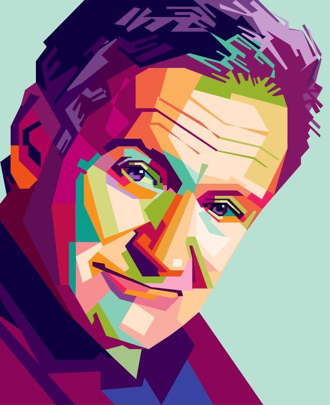 Robin Williams Pop Art