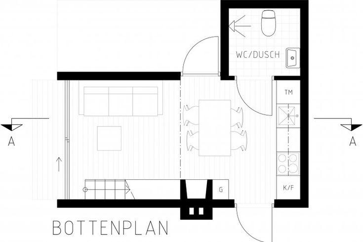 Griab − Arkitektur – 25 kvadratmeter