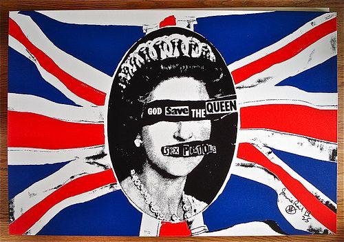 Jamie Reid_God Save The Queen