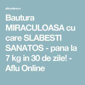 Bautura MIRACULOASA cu care SLABESTI SANATOS - pana la 7 kg in 30 de zile! - Aflu Online