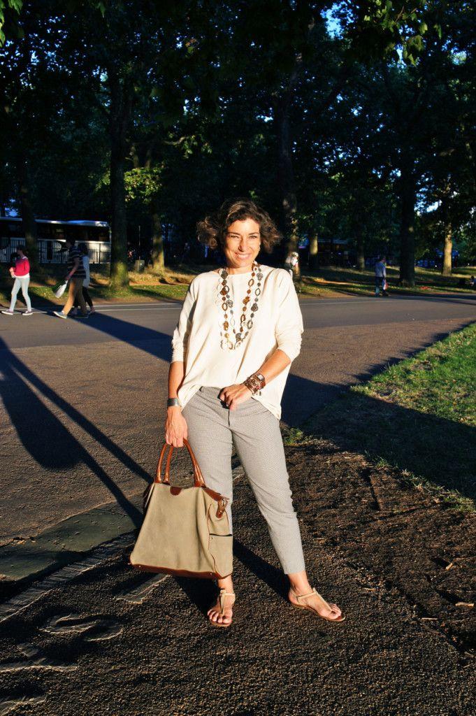 Estilo de Vida com Consuelo Pascolato Blocker: Looks da viagem para Escocia e Londres com uma mala.