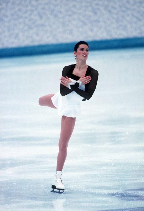 nancy kerrigan | Nancy Kerrigan - 1994 Lillehammer Winter Olympics - Getty Images ...