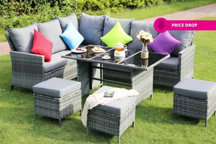 Buy 9-Seater Outdoor Corner Dining Set UK deal for just £389.00 £389 instead of £970 (from Dreams Outdoors) for a nine-seater outdoor dining set - save 60% BUY NOW for just £389.00