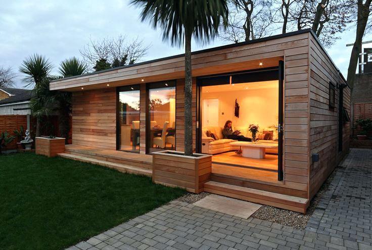Amazing Prefab Backyard Guest House 36 With Additional Home Decor Arrangement Ideas With Prefab Backyard Backyard Guest Houses House Exterior Outdoor Buildings