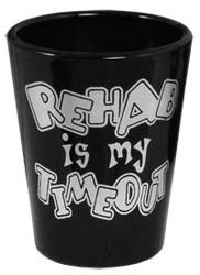 Guaranteed to get a giggle out of anyone taking a shot from these glasses! Select from 6 funny saying on these 1.5 ounce black shot glasses or purchase as a set. What's a party without the laughs and these quality shot glasses are sure to bring it!