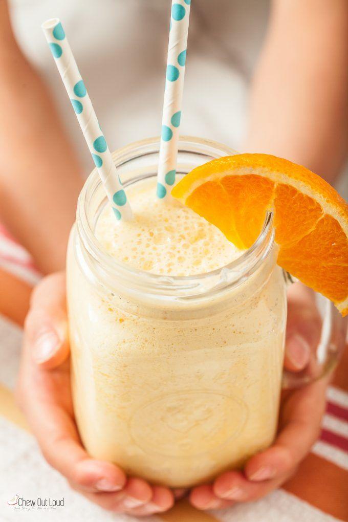 Orange Julius Recipe - only 4 ingredients!