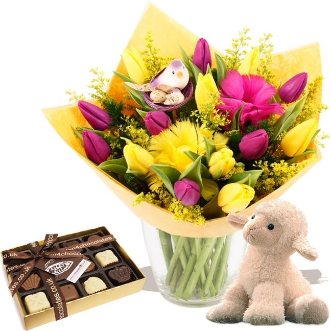 Flowers EASTER 2013  - Spring Gift Set