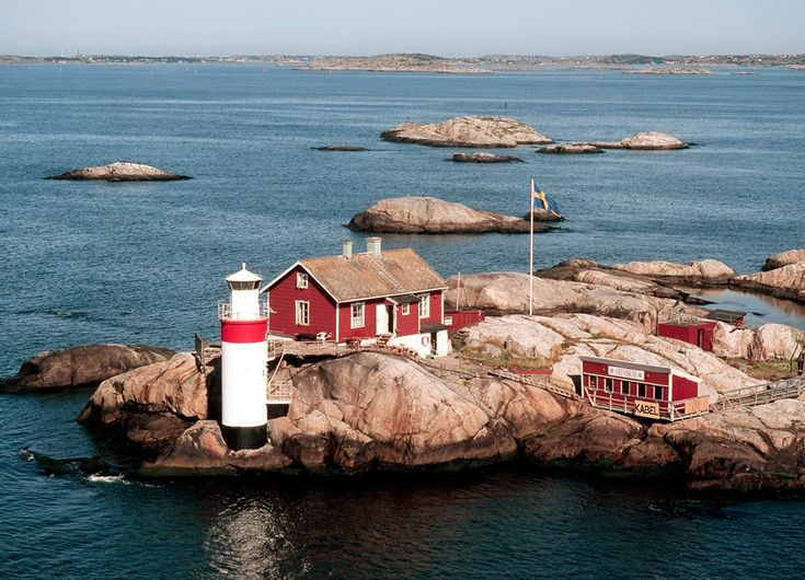 The small island Geveskär in the Gothenburg archi…