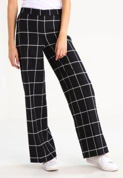 Smarteez - PALAZZO - Bukser - schwarz