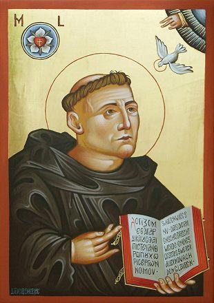 Luther Ikone zum Lutherjahr 2017