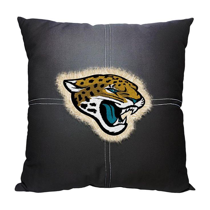 Officially Licensed NFL Letterman Pillow - Jaguars