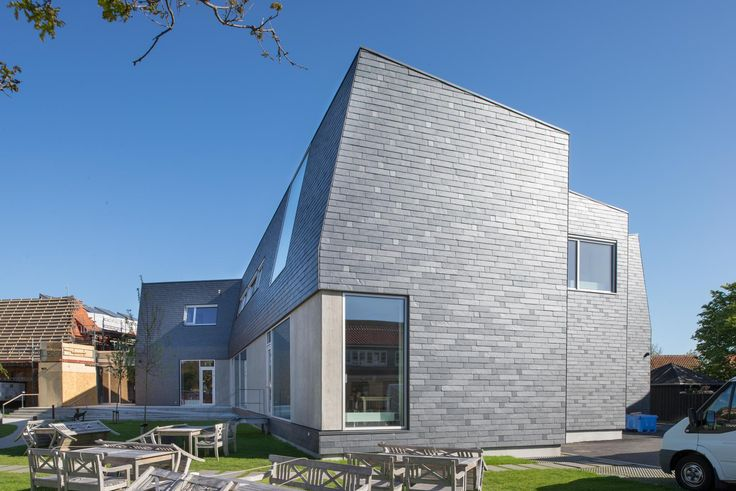 CUPA PIZARRAS natural slate cladding for Skagen Museum in Denmark | #inspiration #slate #facade