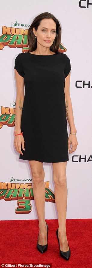 Hectic schedule: Angelina has only just returned from Asia, where she was working on her p...