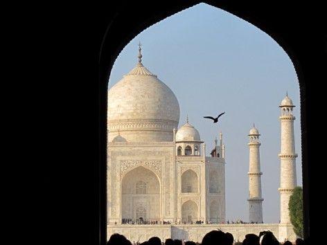 The Taj Mahal, India#Repin By:Pinterest++ for iPad#