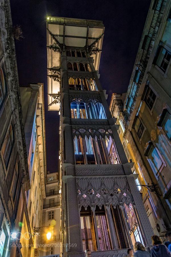 Popular on 500px : Elevator into the Sky by Aperturix