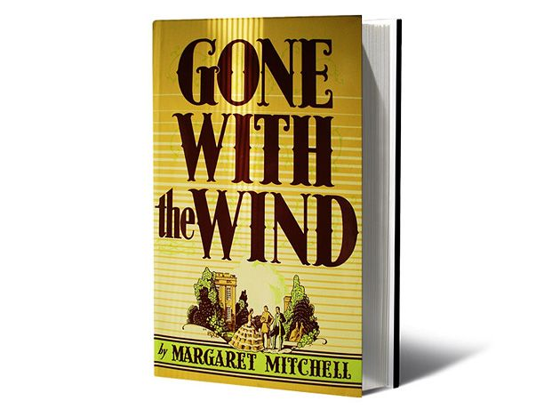 Margaret Mitchell, Gone With the Wind (1936) In the only novel she ever wrote, Mitchell introduced us to Clayton County, Ga., a genteel cotton-plantation society about to get eaten up by the Civil War. She also gave us the grand house Tara, not to mention mercurial Scarlett O'Hara and dashing Rhett Butler.