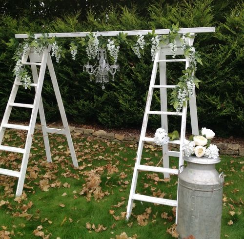 Wedding Altar Hire: 25+ Best Ideas About Ladder Wedding On Pinterest