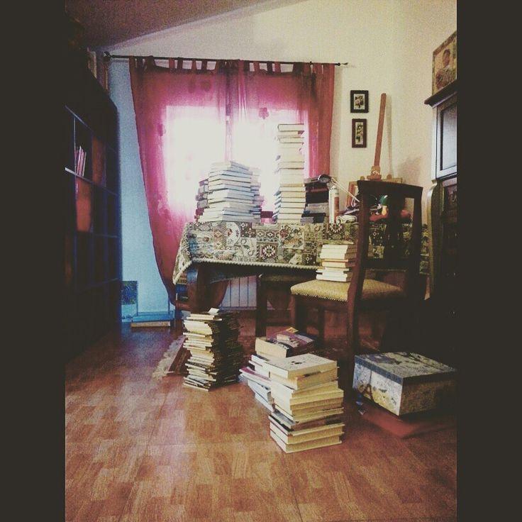 Pochi libri, mi dicono.. ♥