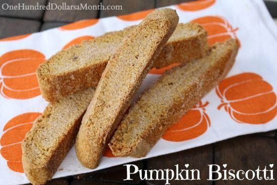 Pumpkin Biscotti | Halloween | Pinterest | Pumpkins, A ...