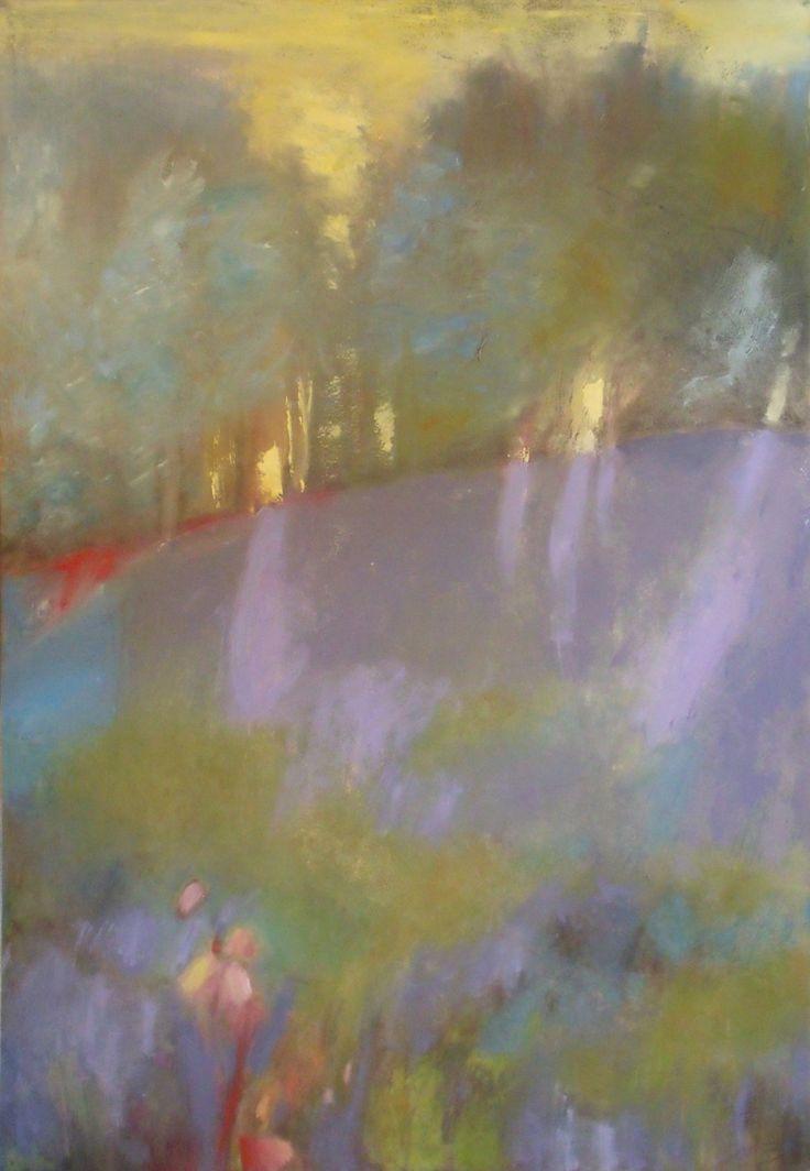 """Le parfum des pins"" Acrylic on canvas www.michelebedard.me"