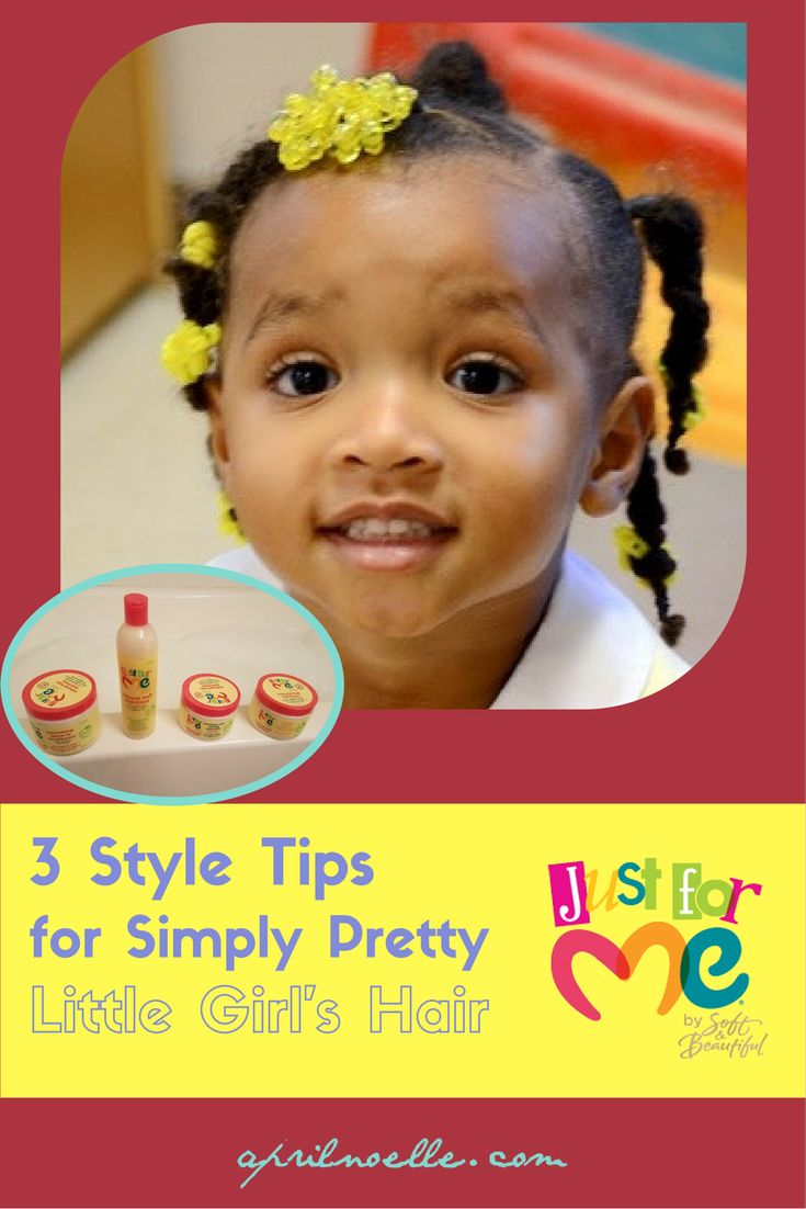 3 Style Tips for Simply Pretty Little Girls Hair   #justformehairjustforme   AprilNoelle.com   # ...