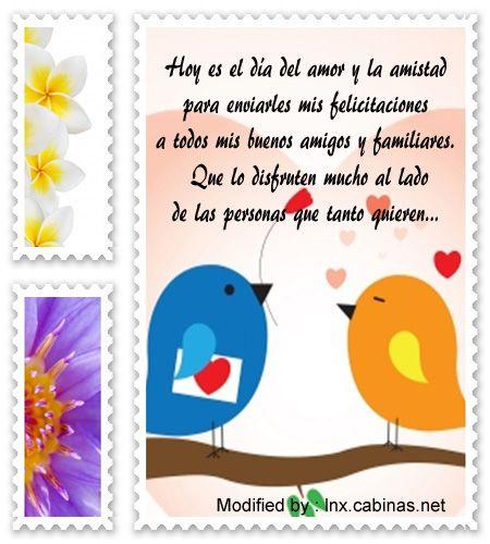 saludos del dia del amor y la amistad para compartir por Whatsapp,descargar mensajes del dia del amor y la amistad: http://lnx.cabinas.net/lindos-mensajes-de-san-valentin/