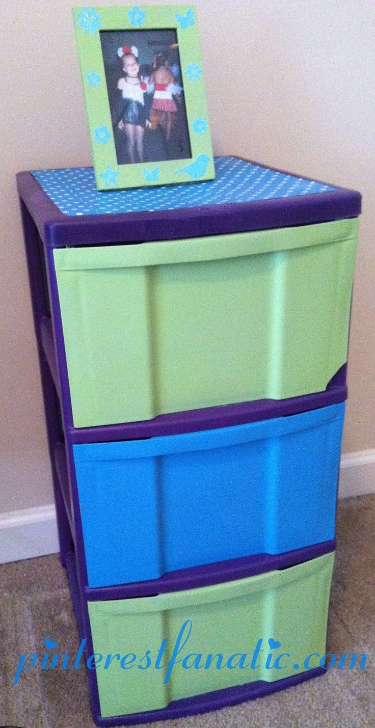 25 best ideas about paint plastic drawers on pinterest