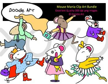 This Mouse Mania Clipart Bundle includes all the images shown in the sample picture and much more. This grouping is a parody of many stories by Kevin Henkes. They are adorable! This pack includes 7 different packages with a total of 91 clips.  * Black line masters of most clips * Lilly * Purple Purse * Wemberly * Worried * Chrysanthemum * Flowers * Sheila Rae * The Brave * Owen * Blankets * Julius * Big sister * Chester's Way * Friends * Parents * Teachers * Signs  * So cute!