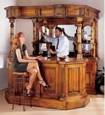 What An Awesome Home Bar Idea :)