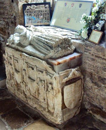 Tomb of Edward of Middleham, only child of Richard III and Queen Anne Neville