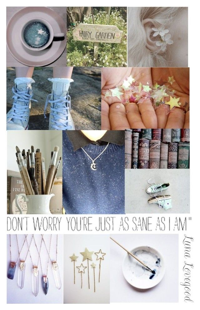 """Luna Lovegood Aesthetic"" by lyrastormborne ❤ liked on Polyvore featuring Luna and My Little Pony"