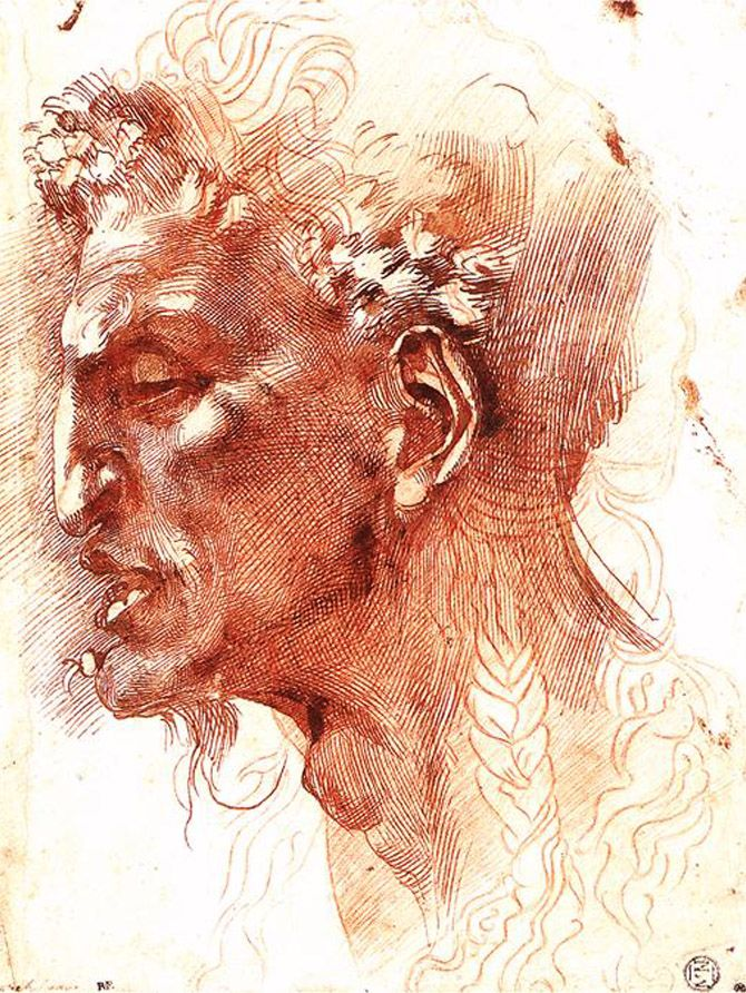 Satyr's Head | Michelangelo Buonarroti