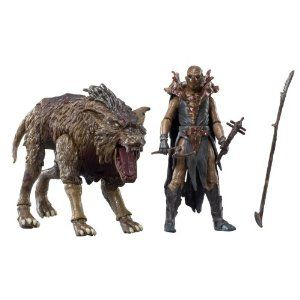 The Hobbit Beast Pack Fimbul and Warg: Amazon.co.uk: Toys & Games