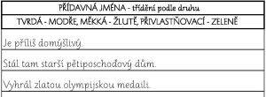 PL přídavná jména třídění_ukázka