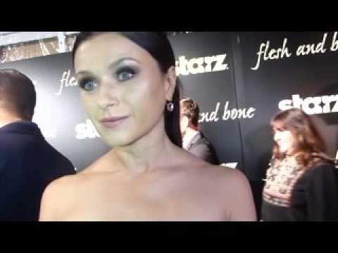 STARZ Flesh & Bone Interview with Irina Dvorovenko who portrays Prima Ballerina Kiira.