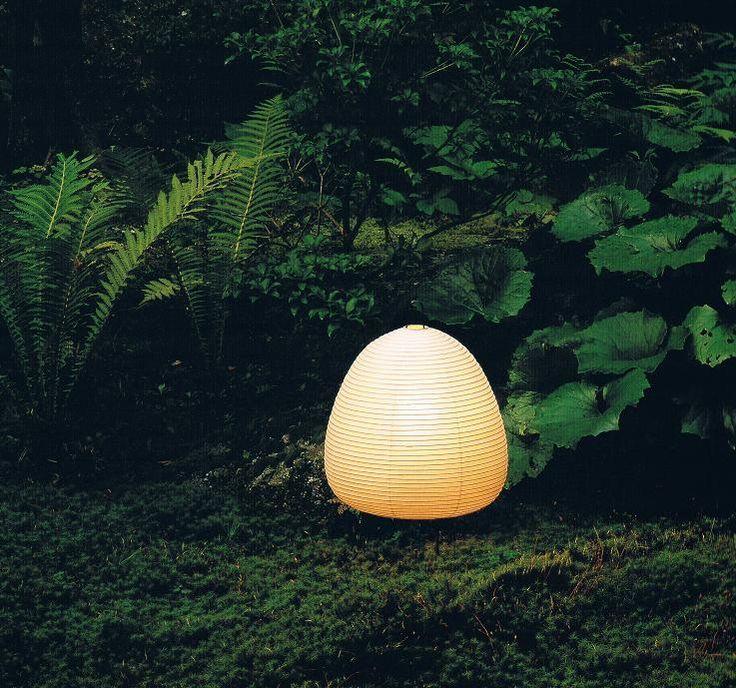 【楽天市場】イサムノグチ AKARI あかり アカリ 1A(無地) LED電球(E26-40W相当)付属 Isamu Noguchi テーブルランプ 和紙照明【送料無料】【あす楽】:iraka-イラカ-