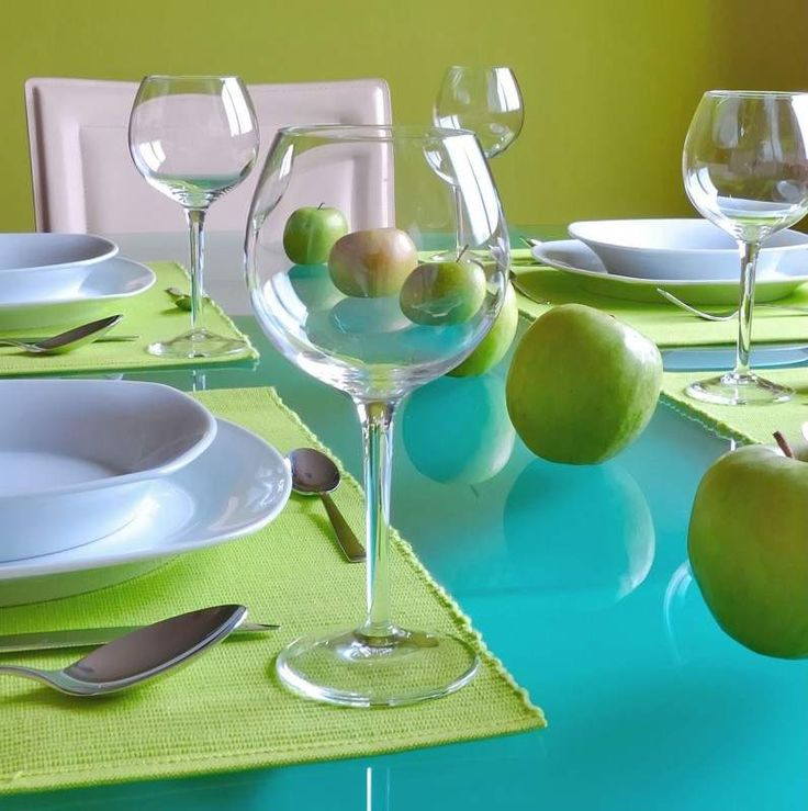 Amazing Blue Green Dining Table Decor Ideas And Modern Room Decorating