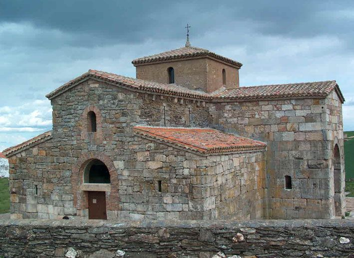 The 7th-century Visigothic church of San Pedro de la Nave